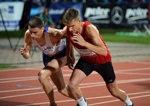 Hessisches Quintett in Sachsen-Anhalt unterwegs - Rebekka Haase gewinnt die 100 Meter, Michael Pohl beendet die Saison mit einem dritten Platz