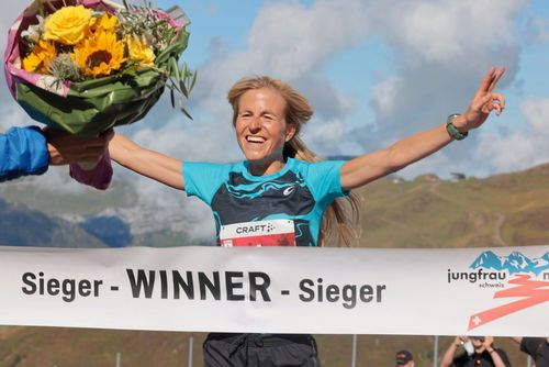 Laura Hottenrott siegt souverän beim 28. Jungfrau Marathon