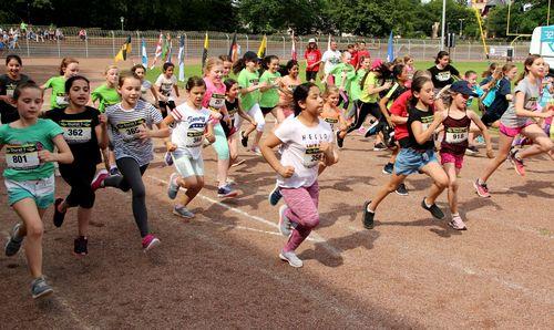 Offener SSC-Schulsport-Lauftest für alle Schüler und Jugendlichen als Spendenläufe
