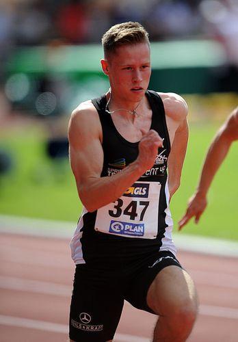 Kevin Kranz zieht ins 100-Meter-Finale ein - Vanessa Grimm im Siebenkampf bei Halbzeit auf Rang neun
