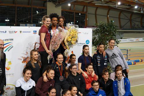 Starker 2. Platz von Vanessa Grimm in Frankreich