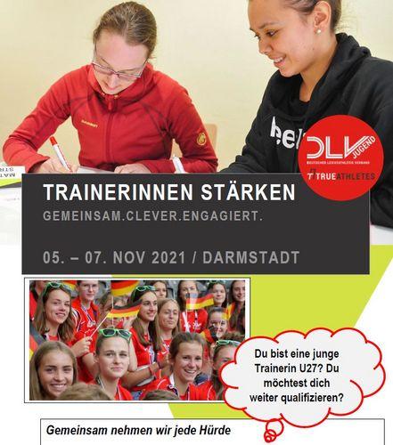 Fortbildungsangebot für junge Trainerinnen