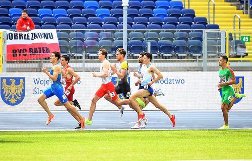Weitspringern Maryse Luzolo holt am zweiten Tag  beim Team Europa-Cup in Chorzow einen der wenigen Disziplinsiege für Deutschland und stellt dabei ihre Bestleistung ein - Rebekka Haase wird Dritte über 200 Meter - Marc Reuther über 800 Meter Fünfter