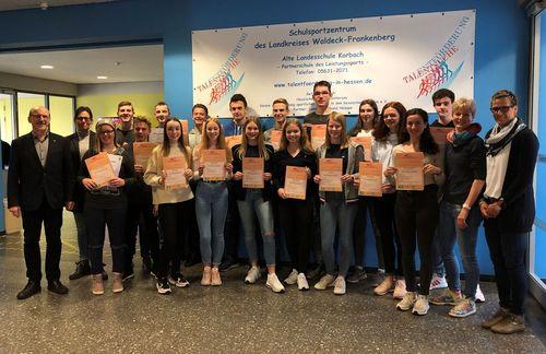 Alte Landesschule bildet zum zweiten Mal Schülermentoren Sport mit der Schwerpunktsportart Leichtathletik aus