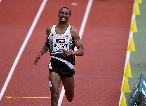 1. Tag Hallen-Europameisterschaften in Torun/POL: Das Aus für Homiyu Tesfaye kommt schon im Vorlauf - keine Chance über 1500 Meter