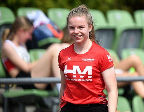 Vivian Groppe (U18) sprintet im Harz über 200 Meter auf den dritten Platz des aktuellen DLV-Rankings - auch Luis Andre mit Kugel & Diskus bärenstark