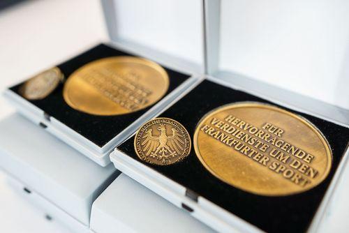 HLV-Leichtathleten mit Frankfurter Sportplakette ausgezeichnet