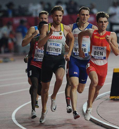 """Marc Reuther glänzt beim Diamond-League in Monaco über 800 Meter mit neuer Bestzeit und knackt erstmals die """"1:45er Marke"""""""