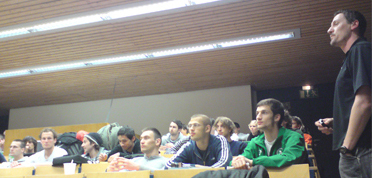 """Auftaktveranstaltung  an der Goethe-Universität Frankfurt zur Präsentation """"Kinderleichtathletik"""" auf dem Internationalen Deutschen Turnfest Frankfurt 2009"""