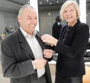 Kurt Drolsbach mit dem Landesehrenbrief ausgezeichnet