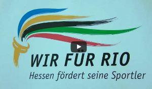 Olympia-Teilnehmer im Interview mit Rhein-Main TV